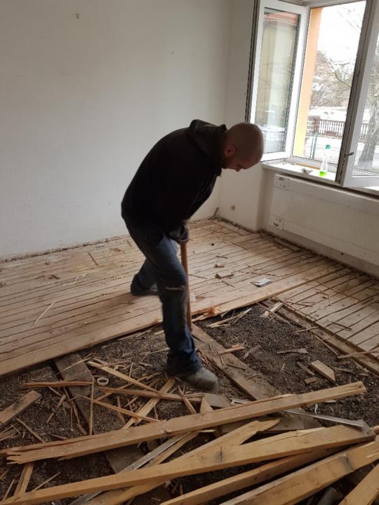 Likvidace podlahy