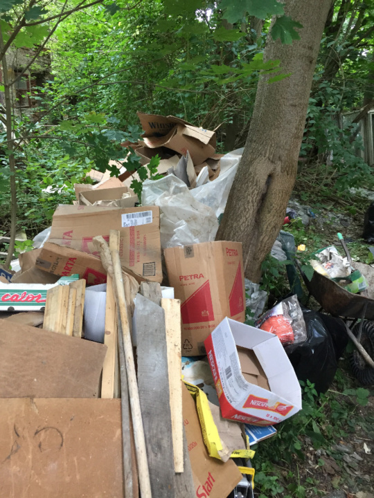 Odpad z vyklízení